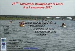 Affiche descente de Loire 2012