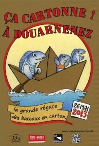 Kayak, régate à Douarnenez
