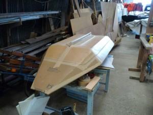 Kayak, vu de dessous