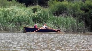 Ronan, le photographe dans son bateau
