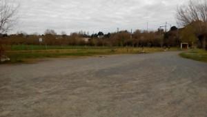 Parking de la cale de Oudon sur la Loire
